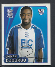 MERLIN PREMIER LEAGUE 2008 Calcio Sticker-n. 84-Johan djourou (S760)