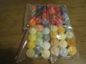 PARTYLITE VOTIVE CANDLES GRAB BAGS LOT OF 48