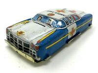 Vintage T.N Nomura Japan Tin Ambulance Car