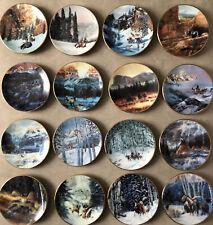 Faces Of The Spirits Mini Plates - Julie Kramer ColeLot Of 16