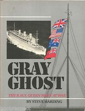 QUEEN MARY SHIPBUILDER 1936 facsimile GRAY GHOST by Harding LUXURY LINER ROW 3BK