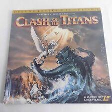 LaserDisc Clash Of The Titan Deluxe Letter Box Edition