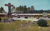 Postcard Pittsburgher Motel Nahunta Georgia GA