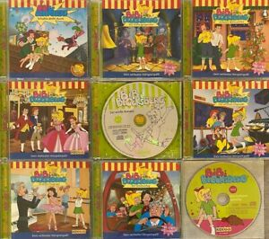 9x Bibi Blocksberg - Sammlung der schönsten Geschichten auf CD