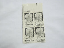 MINT US Postal Service Robert Frost American Poet 10 Cent Stamp Sheet FREE SHIP