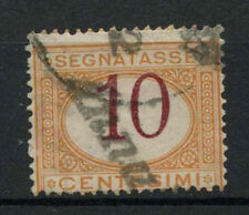 Italy 1981 SG#D25, 10c Postage Dur Colour Shift Error Used #A71735