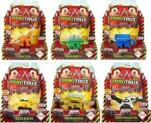 Mattel New Dinotrux Diecast Figure with box