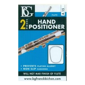 BG Flute Hand Positioner - Two Pieces - White A15