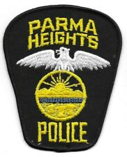Parma Heights OHIO OH Police patch