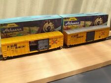 Athearn Plastic HO Scale Model Train Carriages