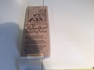 Vintage Susan Burr Hooked Rug Machine
