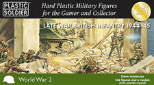 15mm Easy Assembly Late War British Infantry 1944-45 Unpainted Miniatures