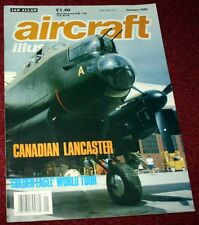 Aircraft Illustrated 1989 January Canadian Lancaster,Tornado,Air UK Leisure,Reno