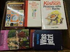 40 Bücher Hardcover Romane Sachbücher verschiedene Themen Paket 8