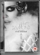 DVD ZONE 2--KYLIE MINOGUE--WHITE DIAMOND - PERSONAL PORTRAIT & LIVE MELBOURNE 06