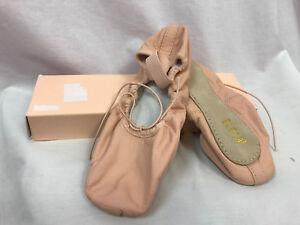 Bloch Dansoft S0205L Adult Full Sole Pink Ballet Shoes, Womens Size 5.5 D, New