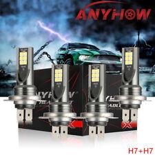 New listing Csp Mini Combo H7 + H7 Led Foglight Kit Bulbs Drl Beam 110W 18000Lm 6000K
