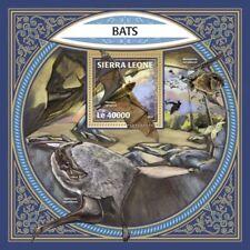 SIERRA LEONE fauna flora bats s/s S201801