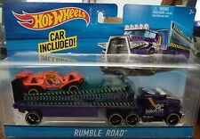 HOT WHEELS RUMBLE ROAD HAULER BIG RIG SEMI TRUCK BDW53 2015 *NEW*