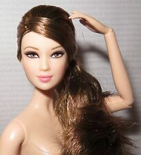NUDE BARBIE ~ BRUNETTE PARTY PERFECT LEA ARTICULATED MODEL MUSE DOLL FOR OOAK