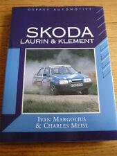 SKODA, LAURIN & KLEMENT CAR BOOK  jm