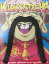 Chinois Long Moustache et Noir Déguisement Moustache
