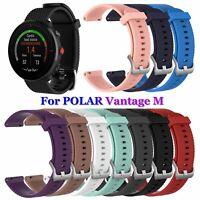 ersatz 22mm schnallen armband silikon - band armbänder For Polar Vantage M