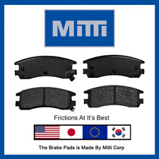 4Pc Rear Brake Pad Premium Set For Cadillac Deville Eldorado Seville 1992-2005