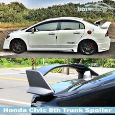NEW Unpainted Honda Civic 8th Sedan TYPE-R JDM Trunk Spoiler Wing 5 Pcs 08+