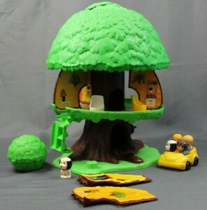 Vintage 1975 General Mills Kenner Tree Tots Family Tree House Accessories