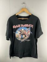 Iron Maiden Mens 'The Trooper' Black Graphic Print Short Sleeve T Shirt Size 3XL