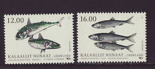 Greenland 2018 MNH - Fish in Nordic Waters, Joint Issue - set of 2 stamps