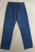 Wrangler 31MWZPW Dark Denim Jeans Tag Size 32x34 Measure 31x33 Cowboy