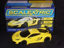 Scalextric McLaren 12 C GT3 solo auto DPR * * Nuovo di zecca in scatola (C3662)