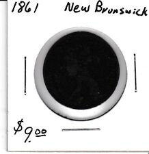 Canada 1861 1 cent New Brunswick