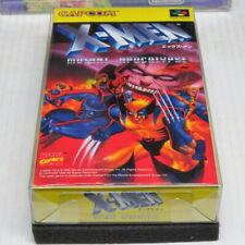 X-Men Mutant Apocalypse Nintendo Super Famicom Japan * ORIGINAL BRAND NEW GAME!