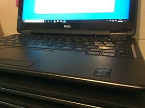 ECRAN TACTILE PC PORTABLE  dell E7240, I5-4300, 4G ram, 128G SSD 12.5''