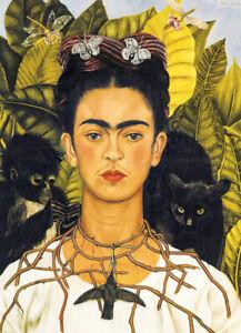 Jigsaw Puzzle Work of Art Ethnic Mexican Frida Kahlo Hummingbird 1000 piece NEW