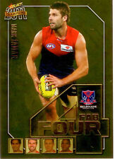 2011 Select AFL Champions Fab Four Gold Card FFG38 Mark Jamar (Melbourne)