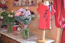 tee shirt ooxoo neuf 4  ans tres lumineux la demoiselle