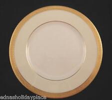 "Minton China Dinner Plate  Buckingham K159 pattern 10.5"" Gold encrusted trim"
