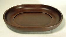 """Vassoio etnico ovale""""Chocolate"""" legno teak design CoseCasa ICM idea regalo-HV("""