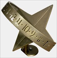 Whitehall Sun Clock Digital Sundial QUICK & FREE Ship in French Bronze NO Rust!