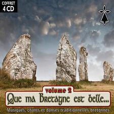 CD Que ma Bretagne est belle Vol.2 - Coffret 4 CD