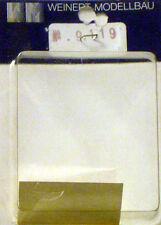 WEINERT MODELLBAU 9119 Decal logotipo DB bianco scala 1/87