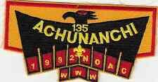 B734 OA BSA Scouts ACHUNANCHI 135 - MERGED  - 1992 NOAC