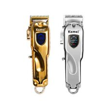 KEMEI Professional Hair Clippers Men Basic Barber Set Cordless Trimmer Shaver PO