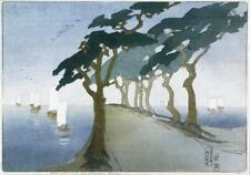 Pines by the Sea : Bertha Lum : Circa 1908 : Fine Art Print