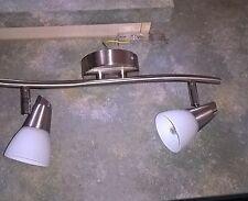 Reality Leuchten * Halogen-Deckenspot * Balkenlampe *  2flammig mit Drehgelenken