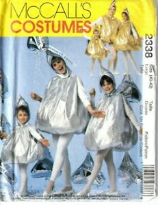 "McCalls Sewing Pattern Hershey's Kisses Costume Adult Large 40-42"" 2338 UNCUT"
